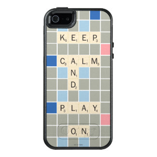 Keep Calm And Play On OtterBox iPhone 5/5s/SE Case