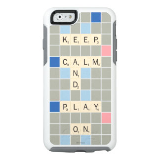 Keep Calm And Play On OtterBox iPhone 6/6s Case