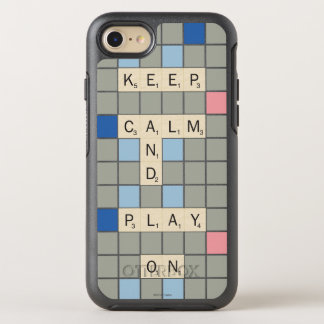 Keep Calm And Play On OtterBox Symmetry iPhone 7 Case
