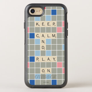 Keep Calm And Play On OtterBox Symmetry iPhone 8/7 Case