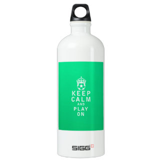 Keep Calm and Play On SIGG Traveller 1.0L Water Bottle