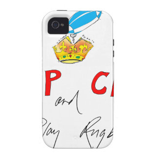 keep calm and play rugby, tony fernandes iPhone 4/4S cases