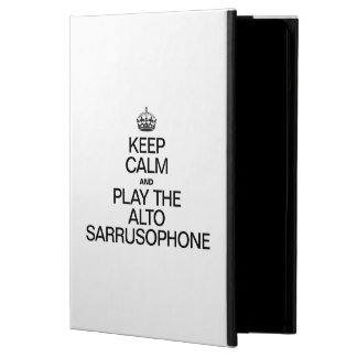 KEEP CALM AND PLAY THE ALTO SARRUSOPHONE COVER FOR iPad AIR