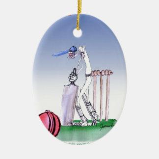 keep calm and play the ball, tony fernandes christmas ornament