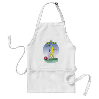 keep calm and play the ball, tony fernandes standard apron