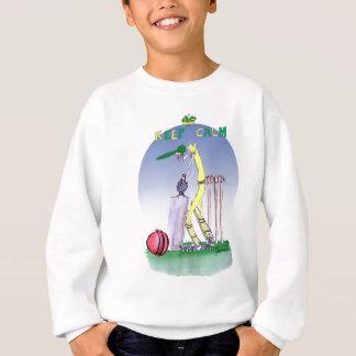 keep calm and play the ball, tony fernandes sweatshirt