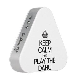 KEEP CALM AND PLAY THE DAHU BLUETOOTH SPEAKER