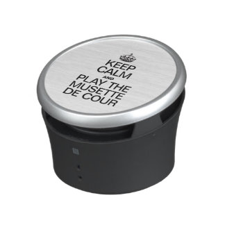 KEEP CALM AND PLAY THE MUSETTE DE COUR SPEAKER