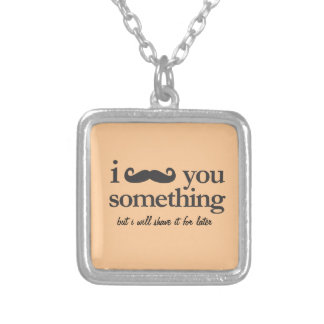 KEEP CALM AND PLAY THE SOUSAPHONE SQUARE PENDANT NECKLACE