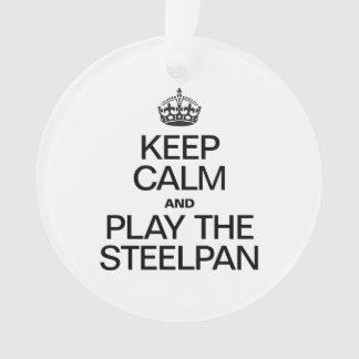 KEEP CALM AND PLAY THE STEELPAN
