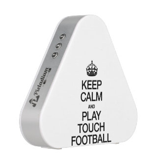 KEEP CALM AND PLAY TOUCH FOOTBALL BLUETOOTH SPEAKER