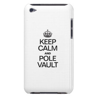 KEEP CALM AND POLE VAULT BARELY THERE iPod COVERS