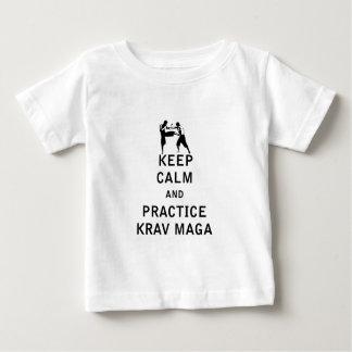Keep Calm and Practice Krav Maga T Shirts