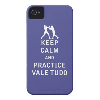 Keep Calm and Practice Vale Tudo Case-Mate iPhone 4 Cases