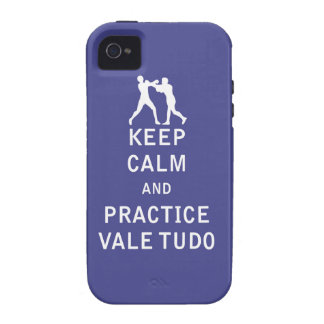 Keep Calm and Practice Vale Tudo iPhone 4/4S Cover