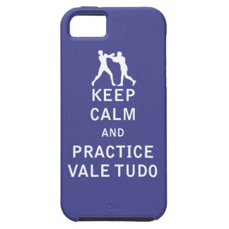 Keep Calm and Practice Vale Tudo iPhone 5 Covers