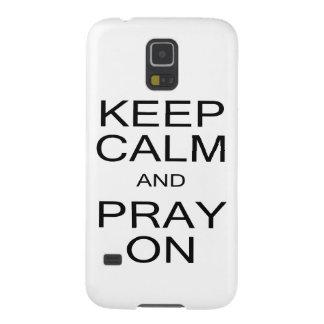 Keep Calm and Pray On Samsung Galaxy S5 Case