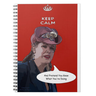 Keep Calm And Pretend You Know What You're Doing Notebook