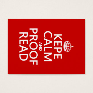 Keep Calm and Proofread (kepe) (in any color)