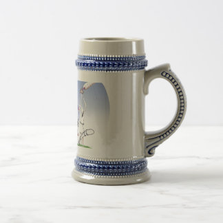 keep calm and protect your bails, tony fernandes beer stein