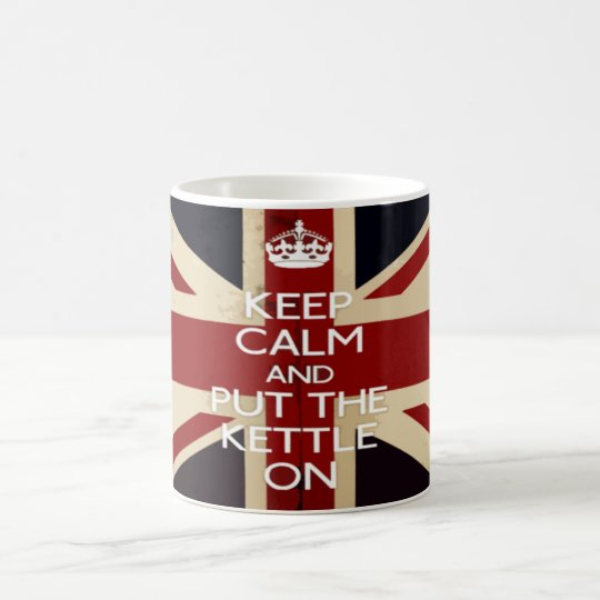 Keep Calm and Put The Kettle On Coffee