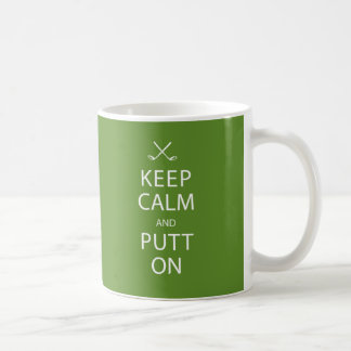 Keep Calm and Putt On - Golf Mug