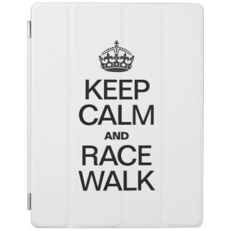 KEEP CALM AND RACE WALK iPad COVER