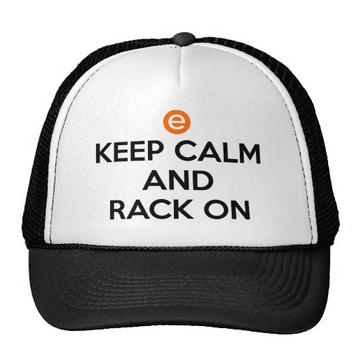 Keep Calm and Rack On Trucker Hat