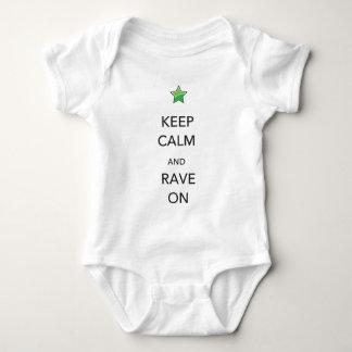 Keep Calm and Rave On Tee Shirts