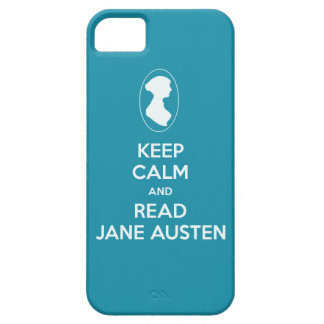 Keep Calm and Read Jane Austen cameo silhouette iPhone 5 Covers