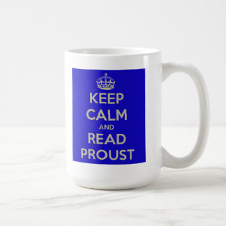 Keep Calm and Read Proust Mug
