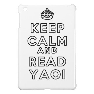 Keep Calm and Read Yaoi iPad Mini Cases