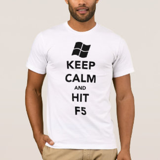 """Keep Calm and Refresh"" A.A. Style T-shirt"