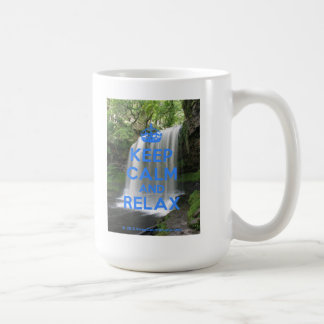 Keep Calm and Relax Coffee Mug