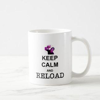 KEEP CALM AND RELOAD COFFEE MUG
