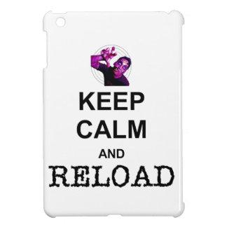KEEP CALM AND RELOAD iPad MINI COVERS