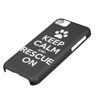 Keep Calm And Rescue On Animal Rescue Case For iPhone 5C