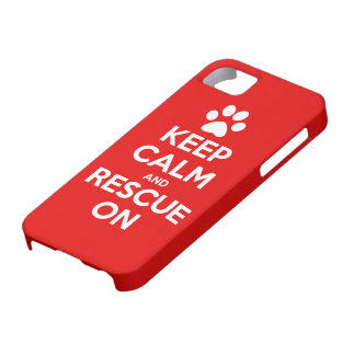 Keep Calm And Rescue On Animal Rescue iPhone 5 Covers