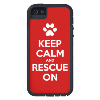Keep Calm And Rescue On Animal Rescue Case For The iPhone 5