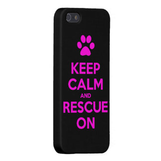 Keep Calm And Rescue On Animal Rescue Cases For iPhone 5