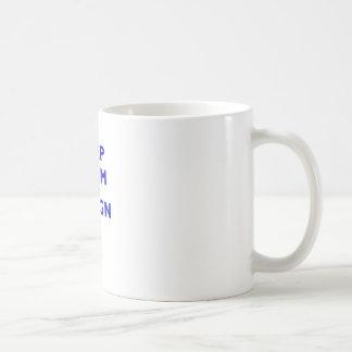 Keep Calm and Resign Basic White Mug