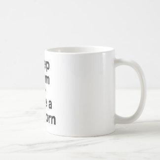 Keep Calm and Ride a Unicorn Mug