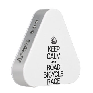 KEEP CALM AND ROAD BICYCLE RACE SPEAKER