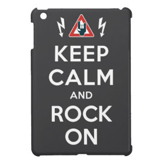 Keep Calm And Rock On Case For The iPad Mini
