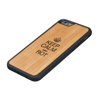 KEEP CALM AND ROT CHERRY iPhone 6 BUMPER