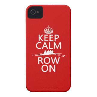 Keep Calm and Row On (choose any color) iPhone 4 Case-Mate Case