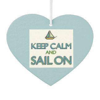 Keep Calm and Sail On