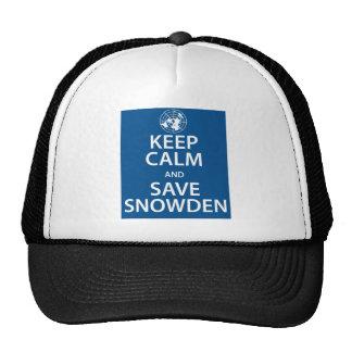 Keep Calm and Save Snowden Cap