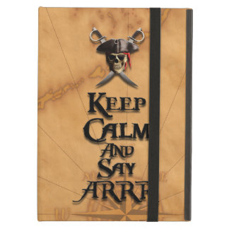 Keep Calm And Say ARRR iPad Air Cases
