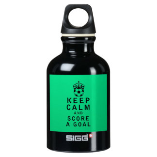 Keep Calm and Score a Goal SIGG Traveller 0.3L Water Bottle
